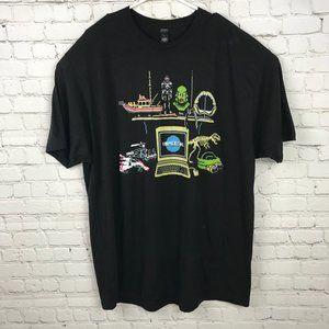 Universal 8 Bit Pixel Graphic T-Shirt Size XXL